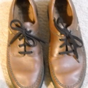 MEN'S MEPHISTOM BROWN LEATHER SHOES SIZE 11